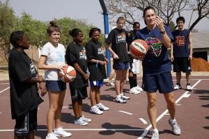 Women in basketball do exist