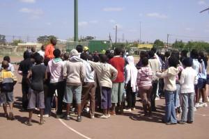 PSBA hosts a basketball Clinic in Mamelodi