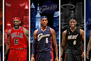The LeBron James sweepstakes, and free agent heaven
