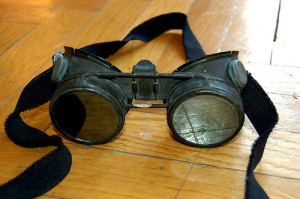 """Steampunk goggles II"" by Curious Expeditions, via flickr"