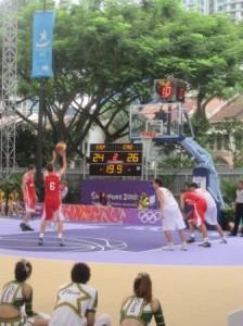 YOG basketball