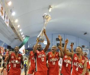 Tshwane Suns - BNL 2013 Champions